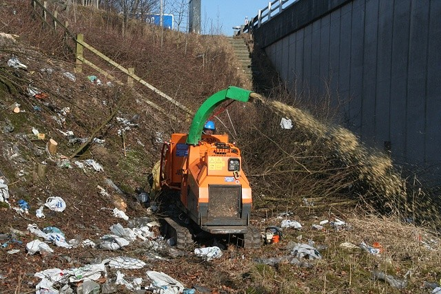Stockport Tree Surgeon clearing vegetation
